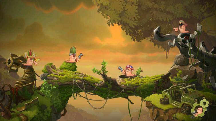 Worms W.M.D. Screenshot 3