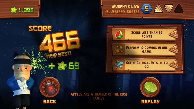 Fruit Ninja Kinect 2 Screenshot 3