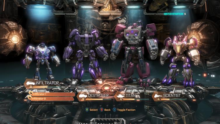 Transformers: Fall of Cybertron Screenshot 2