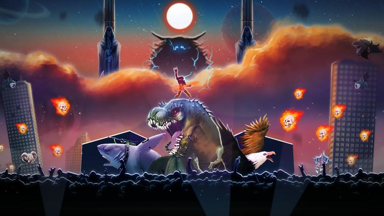 Air Guitar Warrior Gamepad Edition Screenshot 3