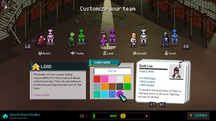 Chroma Squad Screenshot 4