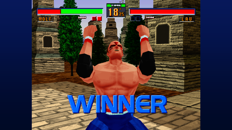 Virtua Fighter 2 Screenshot 3