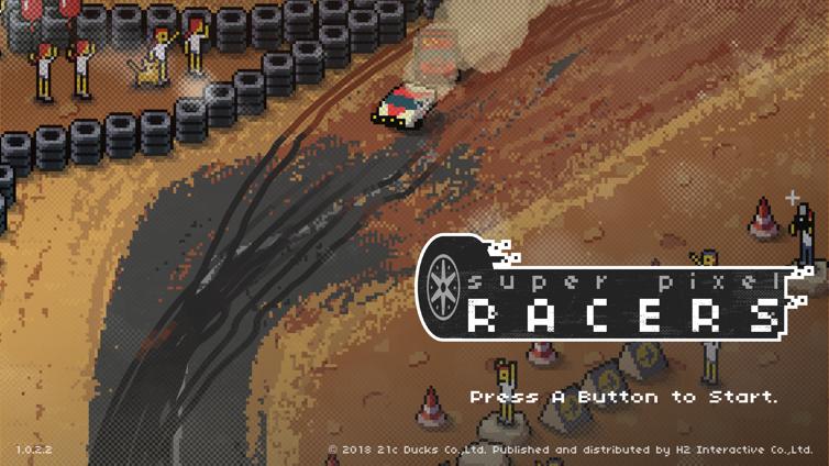 Super Pixel Racers Screenshot 3