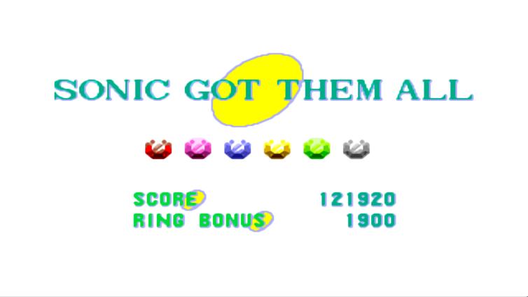 Sonic The Hedgehog (Arcade) Screenshot 4