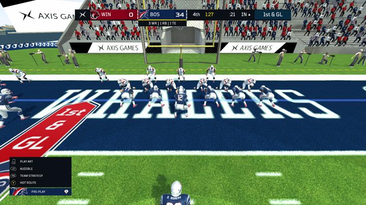 Axis Football 2018 Screenshot 1